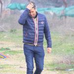 Alfonso Serrano se lleva la mano a la cabeza en una de sus últimas apariciones en la Ciudad Deportiva.