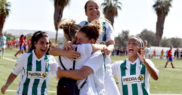 Mery Martí volvió a golear ante el Collerense. Foto: CCF