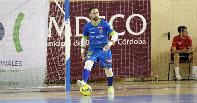 Nono Castro en una imagen de esta temporada. Foto: Córdoba Futsal