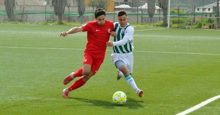 Samu González, uno de los jugadores con más trayectoria del filial. Autor: Javier Olivar