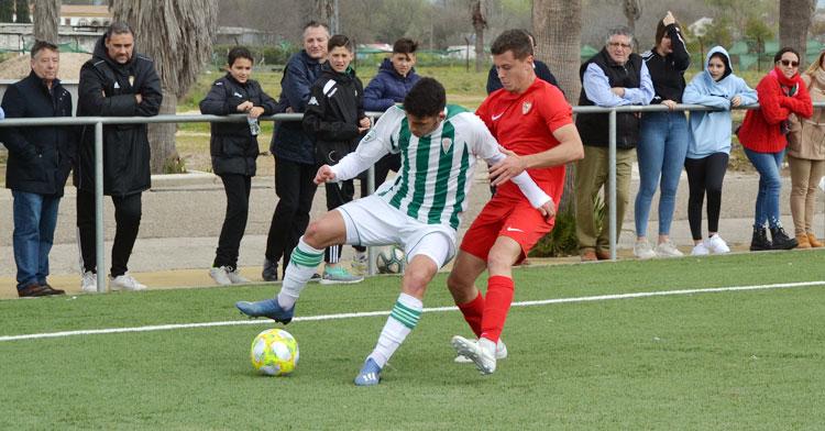 Un partido del Córdoba B de la pasada temporada. Autor: Javier Olivar