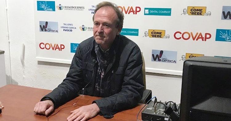 Patricio Moreno, presidente del CD Pozoblanco. Foto: Hoy al día