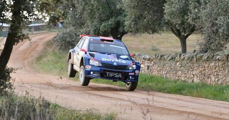Una imagen del Rally de Pozoblanco en otras ediciones. Foto: Hoy al día