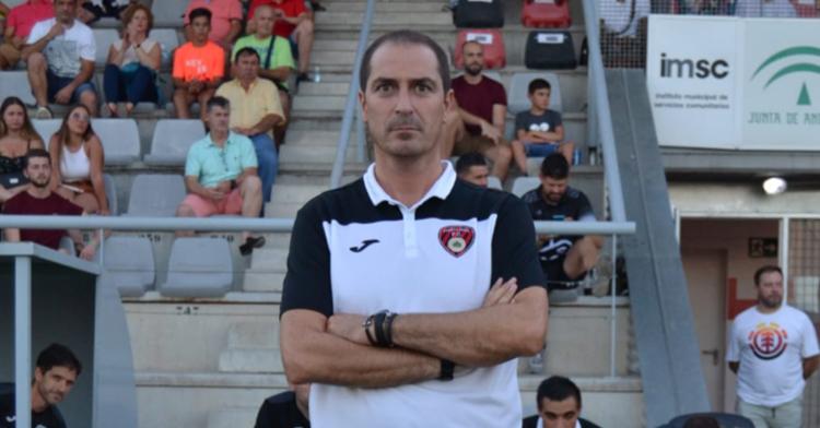 Diego Caro en un partido con el Salerm. Foto: Crónica Centro de Andalucía