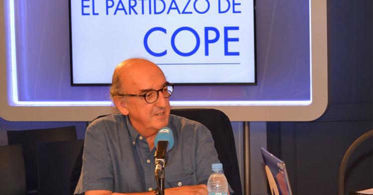 Jaume Roures en El Partidazo de COPE. Foto: El Partidazo de COPE