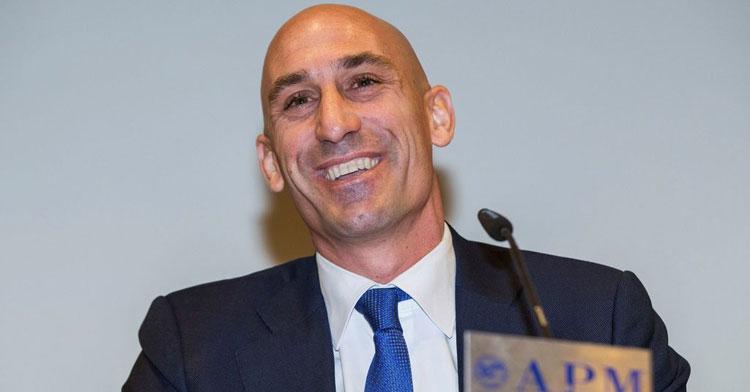 Luis Rubiales, presidente de la RFEF. Foto: El Español