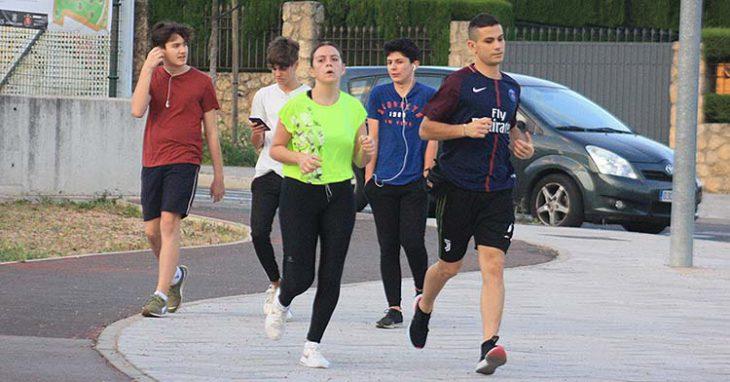 Atletismo por la Arruzafa