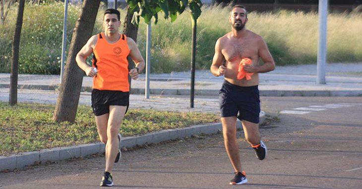 atletas entrenamiento