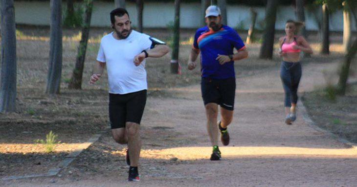 atletismo corredores tablero
