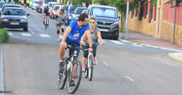 ciclistas por el Patriarca