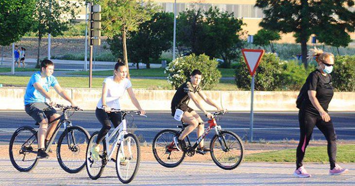 ciclistas por poniente