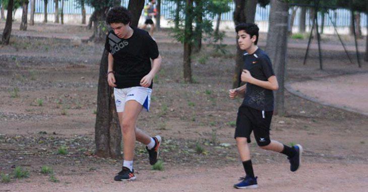 corriendo por el Tablero