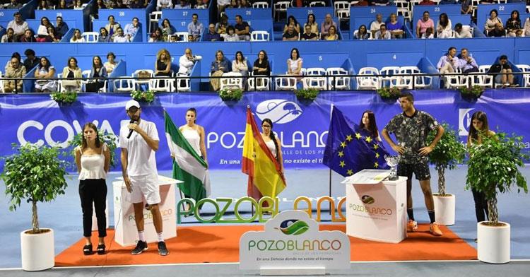 El momento de la final del Open de 2019, que será la última edición disputada hasta que llegue la de 2021