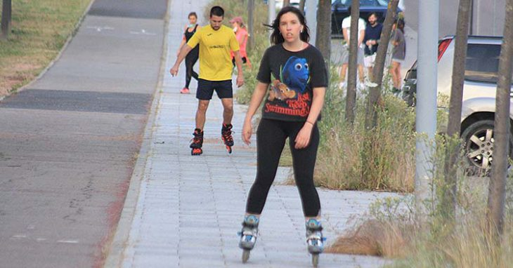 patinando