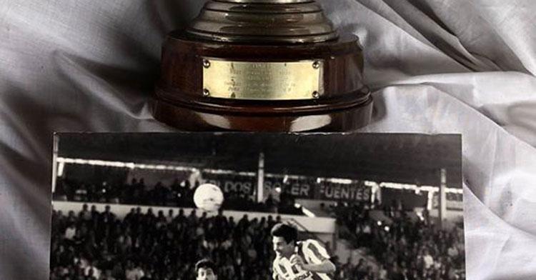 Mariano Mansilla donó su trofeo de máximo goleador con el Córdoba CF