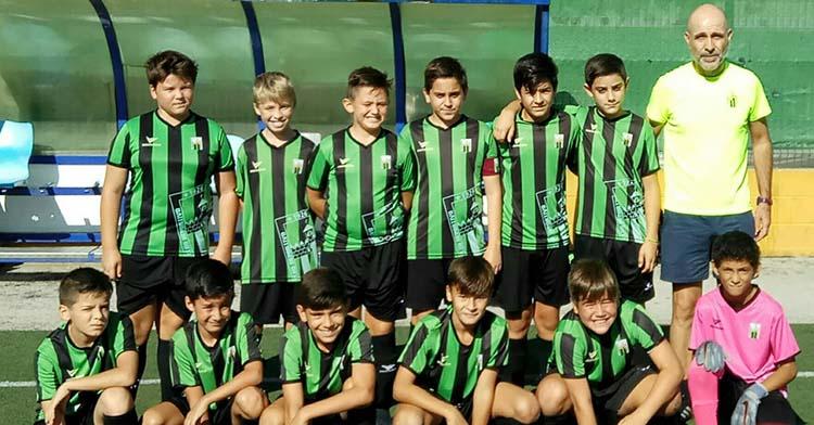 Los alevines del Alcázar que esta temporada ascendieron a Tercera.