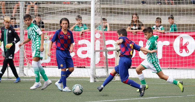 Una imagen de la Cajasur Cup del pasado 2019