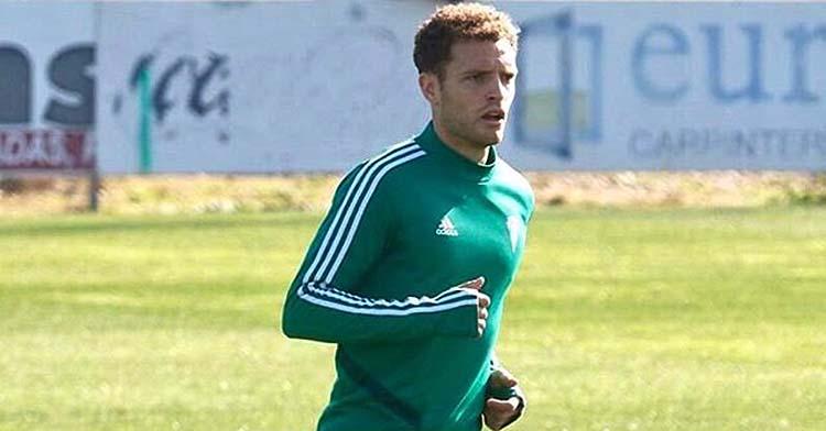 Jordi Tur entrenando con el Córdoba CF en la Ciudad Deportiva.