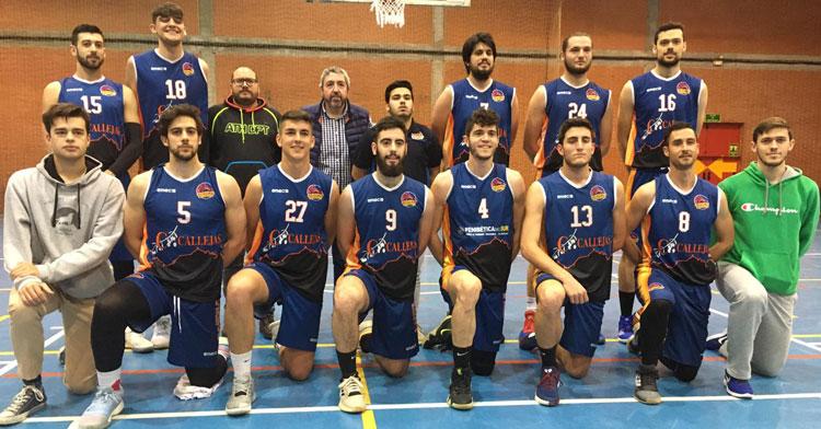 Una foto de formación del CBE Ciudad de Córdoba la pasada temporada.