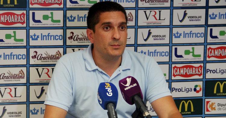 Alberto Lora, concejal de deportes de Lucena. Foto: Ciudad de Lucena