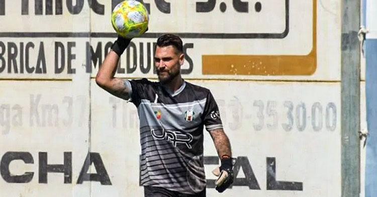 Álvaro García, nuevo portero pontano. Foto: Atlético Mancha Real
