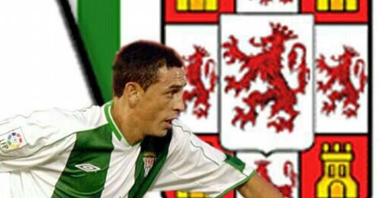 Ariel Montenegro con la elástica blanquiverde en su etapa como futbolista que finalizó en 2005 tras cinco campañas en el club cordobesista.