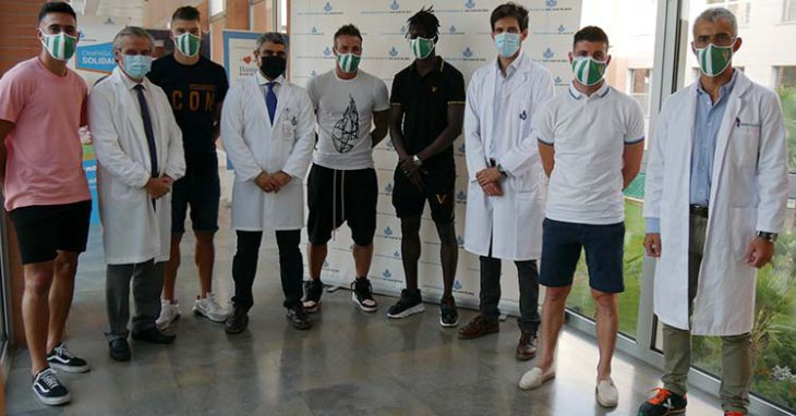 doctores reconocimientos medicos futbolistas
