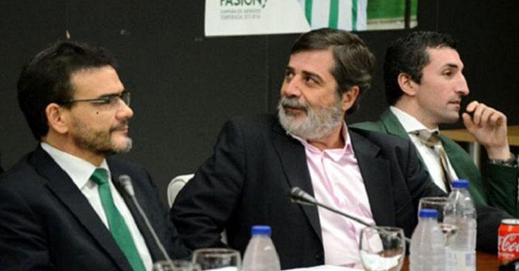 Carlos González en una imagen de archivo en una Junta de Accionistas. Foto: Cadena SER