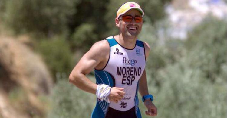 Jorge Moreno en una competición