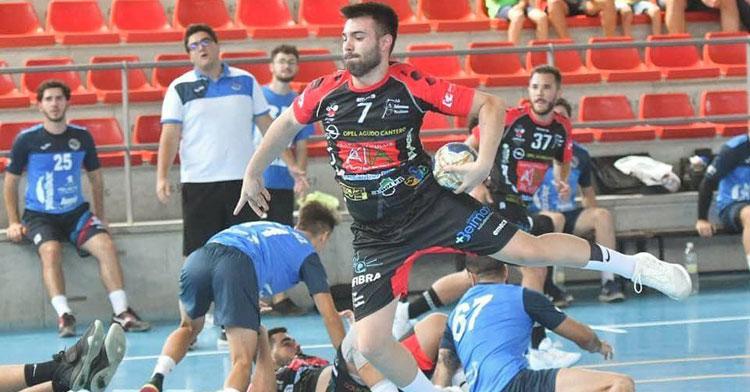 Juan Herrera en un partido en el Sepúlveda. Foto: CBM Pozoblanco