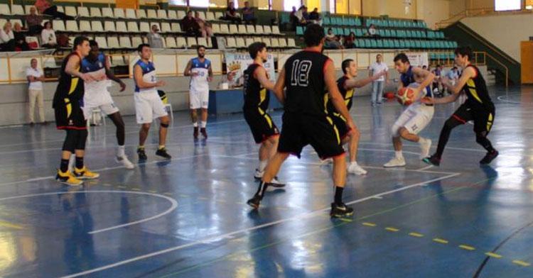 El Peñarroya en su partido en Jerez de esta pasada temporada. Foto: Baloncesto Xerez CD