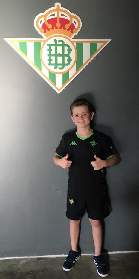 Cristian, nuevo jugador del Real Betis Balompié.