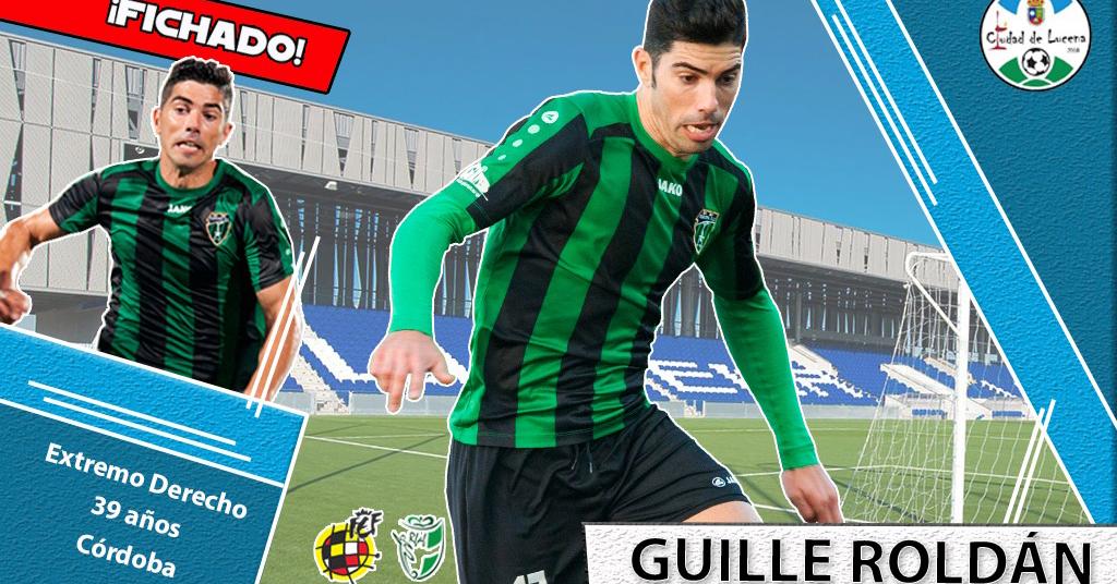 Guille Roldán, nuevo jugador del Ciudad de Lucena