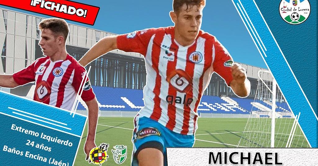 Michael, nuevo fichaje del Ciudad de Lucena, con la camiseta de su anterior equipo