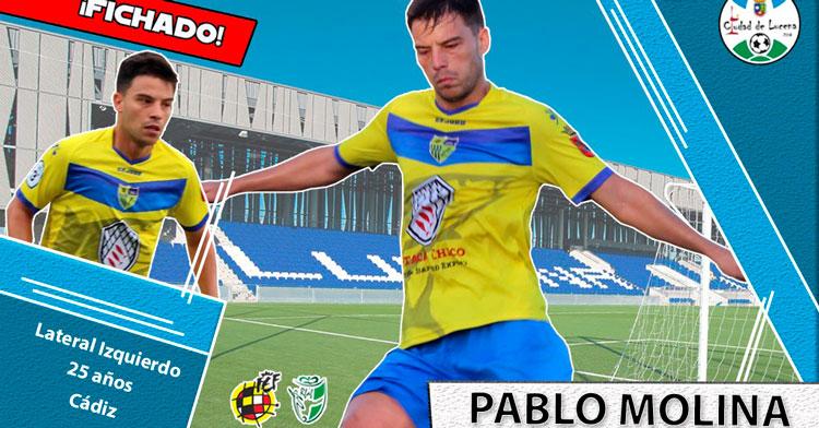 Pablo Molina, nuevo jugador del Ciudad de Lucena