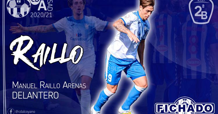 Manuel Raillo, nuevo jugador del CD Alcoyano