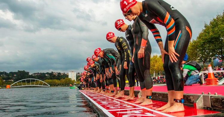 Campeonato de España de Triatlón Sprint Pontevedra 2020