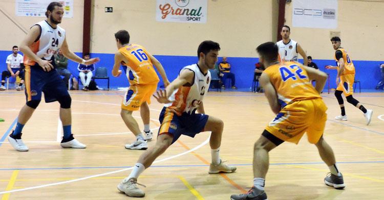 El Ciudad de Córdoba en un partido de la pasada temporada