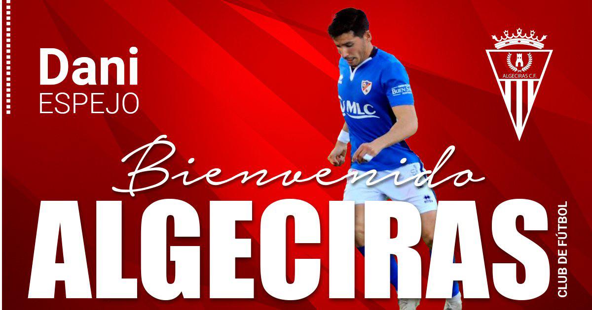 Dani Espejo nuevo jugador del Algeciras CF