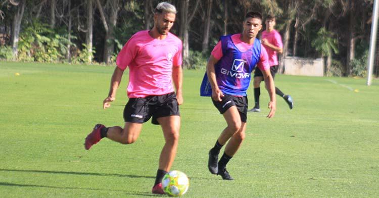 Iván Robles en uno de sus últimos entrenamientos en la Ciudad Deportiva