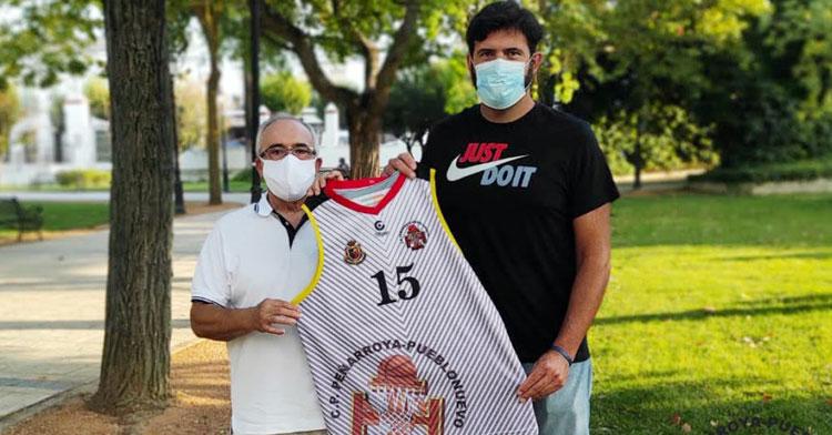 Antonio José Sevillano, renovado en el cuadro minero. Foto: CP Peñarroya