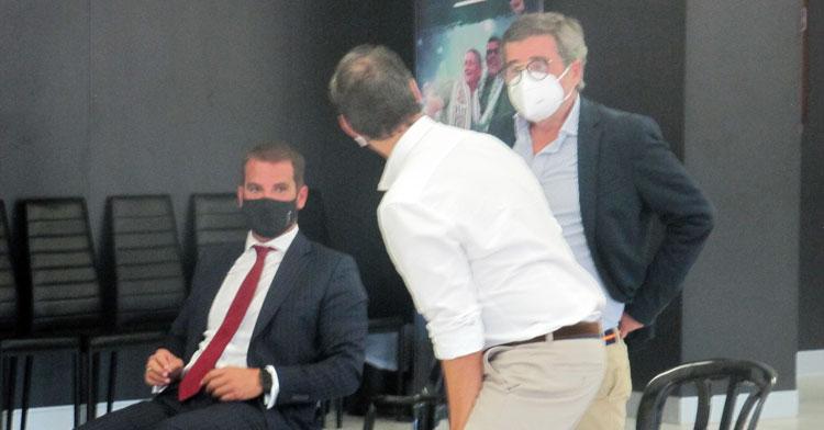 González en su aparición en Córdoba en la Junta de Accionistas de agosto pasado