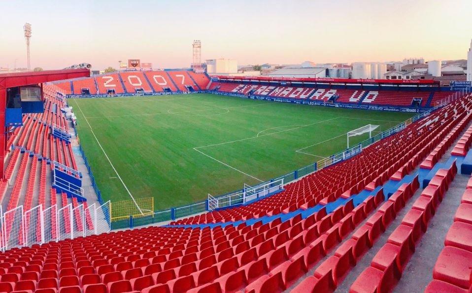 Sin fútbol. No se jugará esta tarde en el Francisco de la Hera. Foto: Extremadura UD