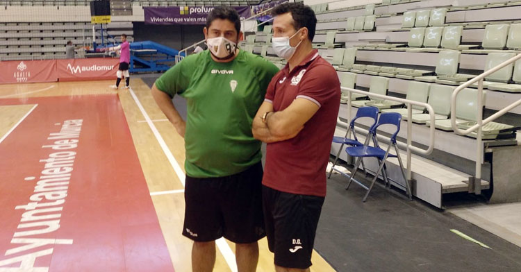 Josan González junto a Diego Giustozzi