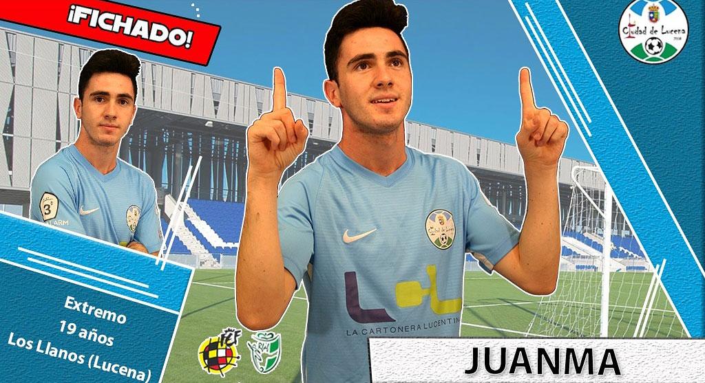 Juanma Trujillo, nuevo jugador celeste. Foto: @ciudaddelucena