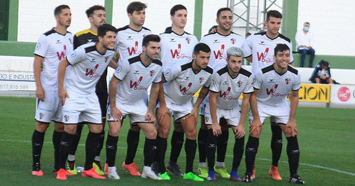 El once del Pozoblanco en el amistoso contra el Córdoba