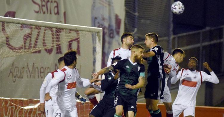 El Córdoba cayó el pasado curso en la primera eliminatoria ante el Sanse disputada en tierras madrileñas.