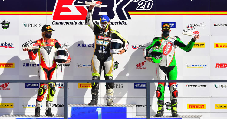 Andrea Sibaja logra un doble podio en Navarra. Foto: Sotoca