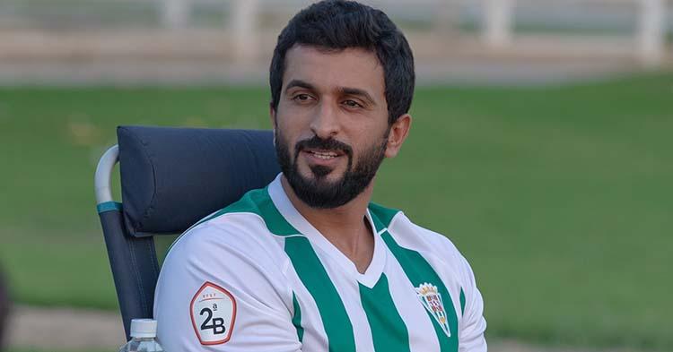 Nasser bin hamad con la elástica blanquiverde enfundada hace menos de un mes en Baréin.