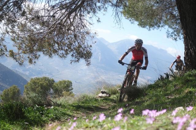 Una imagen de la Andalucía Bike Race de este 2020